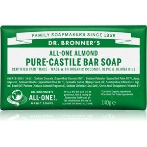 Dr. Bronner's Almond tuhé mydlo 140 g