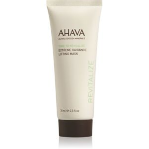 Ahava Time To Revitalize rozjasňujúca liftingová maska 75 ml