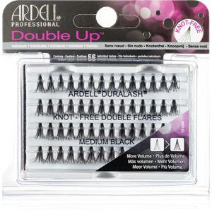 Ardell Double Up trsové nalepovacie riasy bez uzlíka veľkosť Medium Black