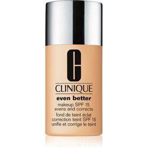 Clinique Even Better korekčný make-up SPF 15 odtieň CN 64 Butterscotch 30 ml