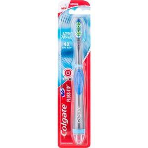 Colgate 360° Surround vibračná zubná kefka na baterky medium