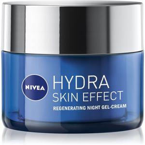 Nivea Hydra Skin Effect hydratačný gél krém na noc 50 ml