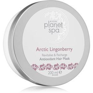Avon Planet Spa Arctic Lingonberry hydratačná maska na vlasy 200 ml