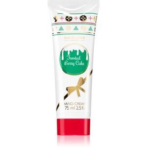 Oriflame Berry Christmas krém na ruky Frosted Berry Cake 75 ml