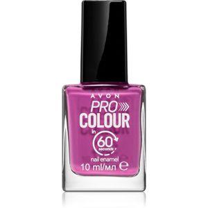 Avon Pro Colour lak na nechty odtieň Plum and Done 10 ml