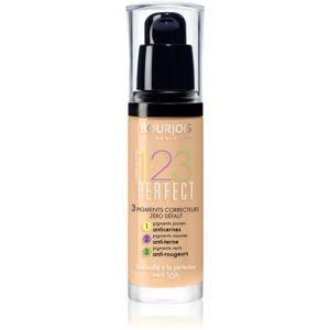 Bourjois 123 Perfect tekutý make-up pre perfektný vzhľad odtieň 54 Beige SPF 10 30 ml