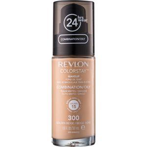 Revlon Cosmetics ColorStay™ dlhotrvajúci zmatňujúci make-up SPF 15 odtieň 300 Golden Beige 30 ml