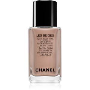 Chanel Les Beiges Foundation ľahký make-up s rozjasňujúcim účinkom odtieň BR132 30 ml