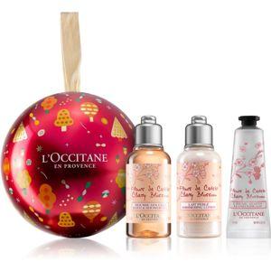 L'Occitane Fleurs de Cerisier darčeková sada Cherry Blossom (pre ženy) II.