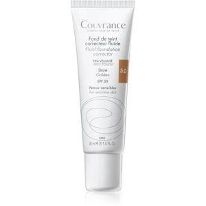 Avène Couvrance tekutý krycí makeup SPF 20 odtieň 5.0 Golden 30 ml