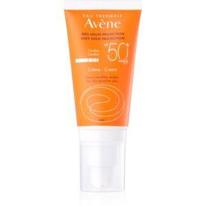 Avène Sun Sensitive ochranný krém pre suchú a citlivú pleť SPF 50+