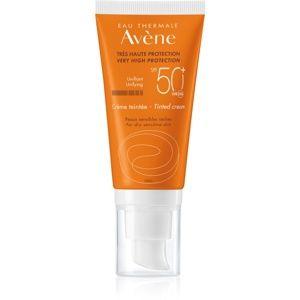 Avène Sun Sensitive tonujúci ochranný krém pre suchú a citlivú pleť SP