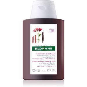 Klorane Quinine posilňujúci šampón pre oslabené vlasy 100 ml