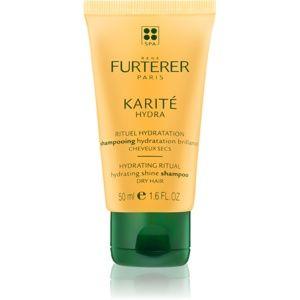 Rene Furterer Karité Hydra hydratačný šampón pre lesk suchých a lámavý