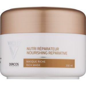 Vichy Dercos Nutri Reparateur vyživujúca maska pre suché a poškodené vlasy 200 ml