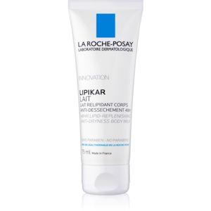 La Roche-Posay Lipikar Lait relipidačné telové mlieko proti vysušovaniu pokožky 75 ml