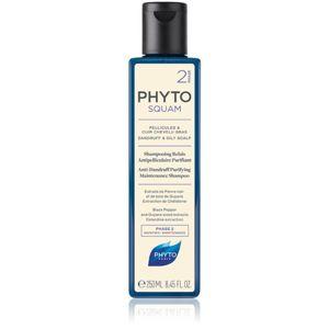 Phyto Phytosquam hĺbkovo čistiaci šampón pre mastnú pokožku hlavy proti lupinám