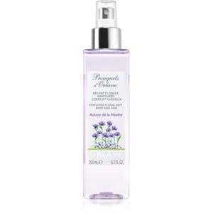 Orlane Bouquets d'Orlane Autour de la Pivoine osviežujúca voda na vlasy a telo pre ženy 200 ml