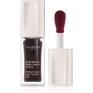 Clarins Lip Make-Up Instant Light vyživujúca starostlivosť na pery odtieň 08 Blackberry 7 ml