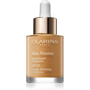 Clarins Face Make-Up Skin Illusion rozjasňujúci hydratačný make-up SPF 15 odtieň 110 Honey 30 ml