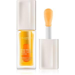 Clarins Lip Make-Up Lip Comfort Oil vyživujúca starostlivosť na pery odtieň 01 Honey 7 ml