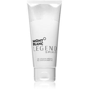 Montblanc Legend Spirit sprchový gél pre ženy 100 ml