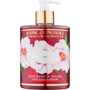 Jeanne en Provence Pivoine Féerie tekuté mydlo na ruky pivónia 500 ml