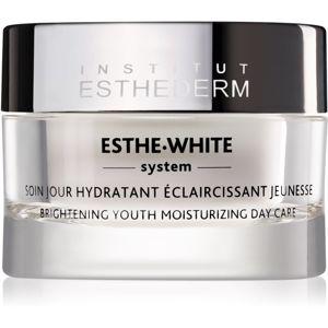 Institut Esthederm Esthe White Brightening Youth Moisturizing Day Care omladzujúca denná starostlivosť pre rozjasnenie a hydratáciu pleti 50 ml
