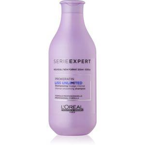 L'Oréal Professionnel Serie Expert Liss Unlimited vyhladzujúci šampón pre nepoddajné a krepovité vlasy 300 ml