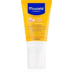 Mustela Solaires ochranný krém na tvár SPF 50+