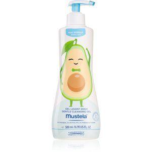 Mustela Bébé jemný umývací gél pre normálnu pokožku