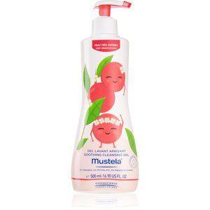 Mustela Bébé upokojujúci kúpeľový a sprchový gél pre citlivú pokožku