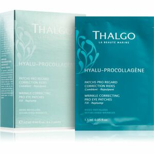 Thalgo Hyalu-Procollagen Wrinkle Correcting Pro Eye Patches vyhladzujúca očná maska 8x2 ks
