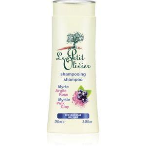 Le Petit Olivier Myrtle & Pink Clay šampón pre mastné vlasy 250 ml