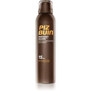 Piz Buin Instant Glow rozjasňujúci sprej na opaľovanie SPF 15