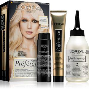 L'Oréal Paris Préférence farba na vlasy odtieň Extreme Platinum