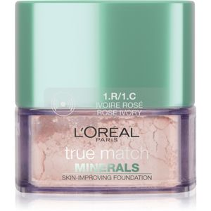 L'Oréal Paris True Match Minerals púdrový make-up odtieň 1.R/1.C Rose Ivory 10 g