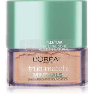 L'Oréal Paris True Match Minerals púdrový make-up odtieň 4.D/4.W Golden Natural 10 g