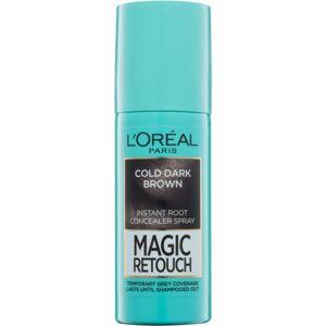 L'Oréal Paris Magic Retouch sprej pre okamžité zakrytie odrastov odtieň Cold Dark Brown 75 ml
