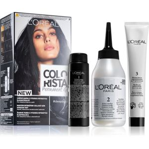 L'Oréal Paris Colorista Permanent permanentná farba na vlasy odtieň Deep Black