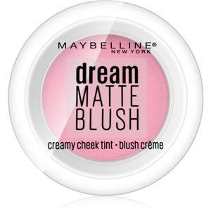 Maybelline Dream Matte Blush matná krémová lícenka odtieň 40 Mauve Intrigue 6 g