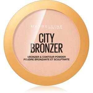 Maybelline City Bronzer bronzer a kontúrovací púder odtieň 150 Light Warm 8 g