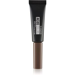 Maybelline Tattoo Brow Waterproof Gel vodeodolný gél na obočie odtieň 06 Deep Brown 5 ml