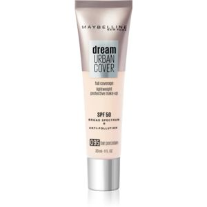 Maybelline Dream Urban Cover vysoko krycí make-up odtieň 095 Fair Porcelain 30 ml