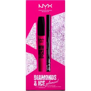 NYX Professional Makeup Diamonds & Ice kozmetická sada (na oči)