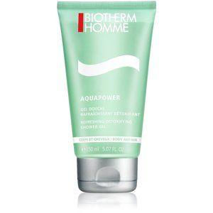 Biotherm Homme Aquapower osviežujúci sprchový gél na telo a vlasy
