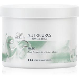 Wella Professionals Nutricurls Waves & Curls uhladzujúca maska pre vlnité a kučeravé vlasy 500 ml