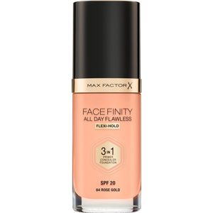 Max Factor Facefinity All Day Flawless make-up 3v1 odtieň 64 Rose Gold 30 ml