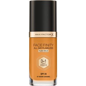 Max Factor Facefinity All Day Flawless make-up 3v1 odtieň 87 Warm Caramel 30 ml