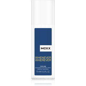 Mexx Whenever Wherever deodorant s rozprašovačom pre mužov